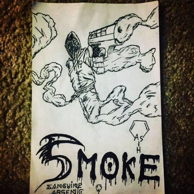 Rainbow Six: Art - Smoke Elite Drawing image 2