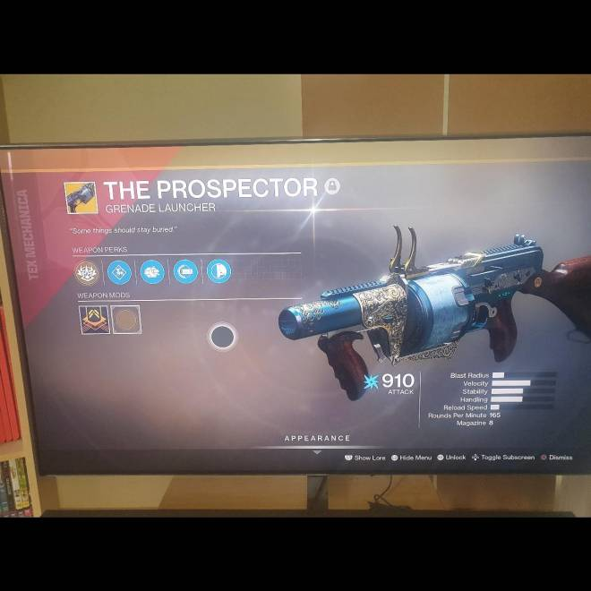 Destiny: General - First world drop exotic, any good? image 1