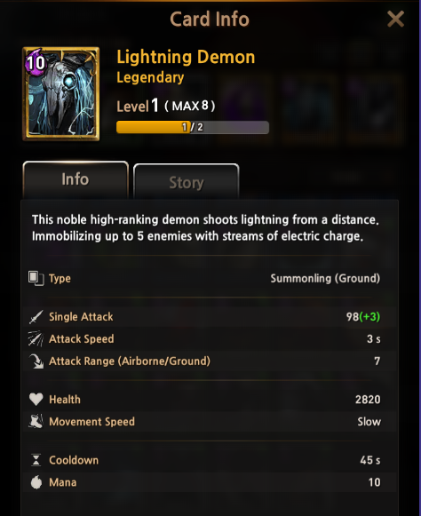 First Summoner: Notice - [Notice] Introducing the New Summonling Card : Lightning Demon ⚡ image 5