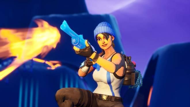 Fortnite: Battle Royale - Bold and Blue...💙✨❗(Blue Team Leader Showcase)  image 13