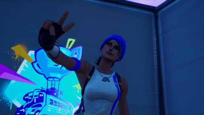 Fortnite: Battle Royale - Bold and Blue...💙✨❗(Blue Team Leader Showcase)  image 9