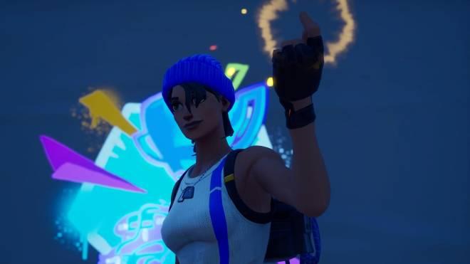Fortnite: Battle Royale - Bold and Blue...💙✨❗(Blue Team Leader Showcase)  image 8