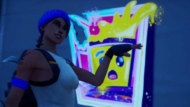 Fortnite: Battle Royale - Bold and Blue...💙✨❗(Blue Team Leader Showcase)  image 10