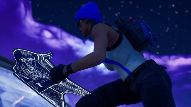 Fortnite: Battle Royale - Bold and Blue...💙✨❗(Blue Team Leader Showcase)  image 11