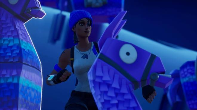 Fortnite: Battle Royale - Bold and Blue...💙✨❗(Blue Team Leader Showcase)  image 2