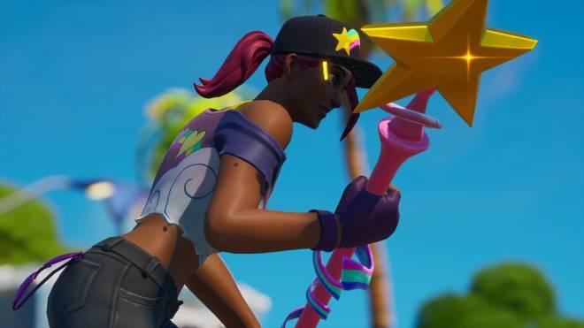 Fortnite: Battle Royale - Beachy Beauty... 🏖️💕✨(Beach Bomber Showcase)  image 3