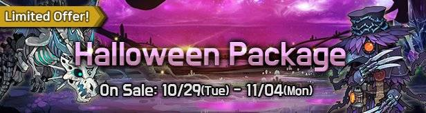 60 Seconds Hero: Idle RPG: Events - [Limited Offer] Halloween Package 10/29(Tue) – 11/04(Mon) image 1