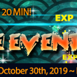 EXP BOOST HOT TIME EVENT (Oct 30, 2019 ~ Nov 30, 2019