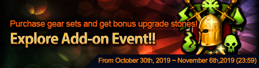 4Story - Age of Heroes: event - Expore Add on Event(Oct 30 ~ Nov 6) image 3