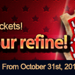Get your refine materials back! (Oct 31 ~ Nov 7)