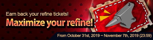 4Story - Age of Heroes: event - Get your refine materials back! (Oct 31 ~ Nov 7) image 3