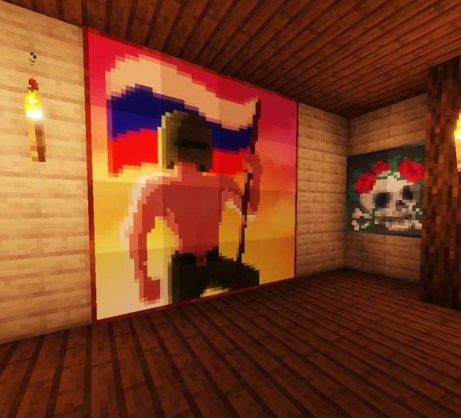 Rainbow Six: Art - My R6 Minecraft paintings image 3
