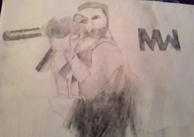 Call of Duty: General - Modern Warfare drawing image 2