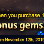 Bonus Gem Event