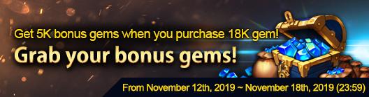 4Story - Age of Heroes: event - Bonus Gem Event image 1