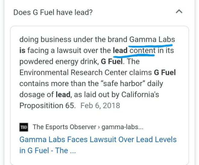 G Fuel: General - That's interesting... image 2