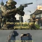 Good teammates are a myth