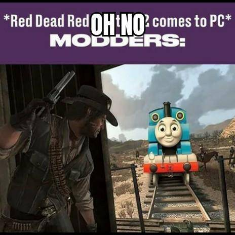 Red Dead Redemption: Memes - Oh no image 1