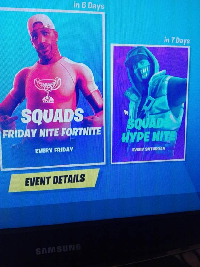 Fortnite: Looking for Group - I need 3 people  for hype nite and friday nite  image 3