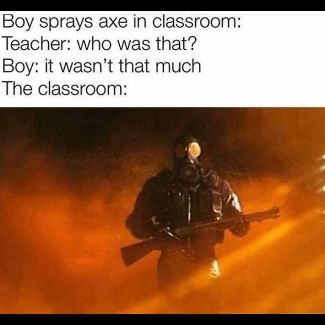 Rainbow Six: Memes - This is why axe is bad image 1
