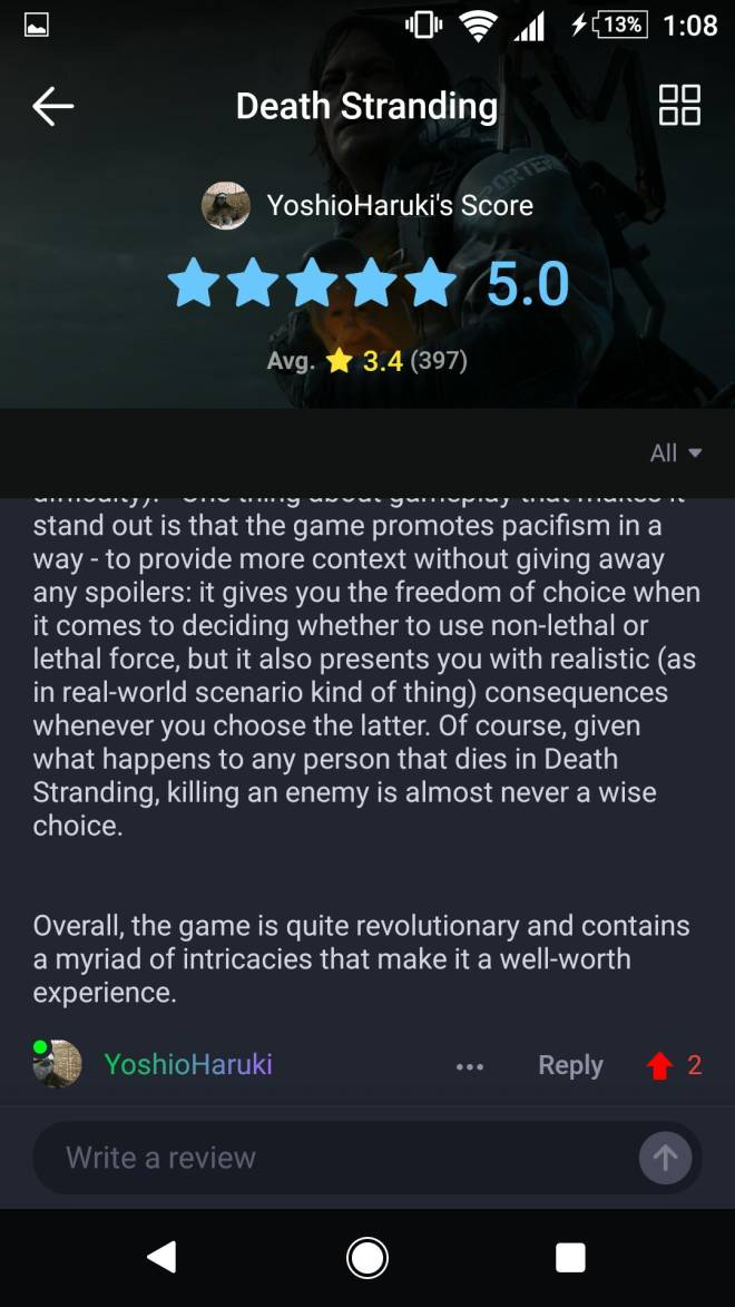 Death Stranding: General - Positive Review  image 4