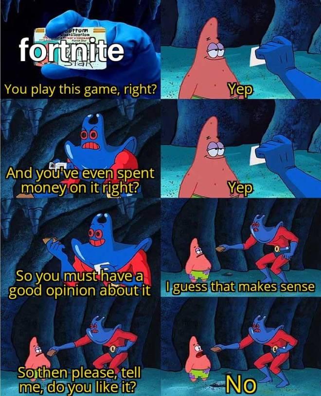Fortnite: Memes - Fortnite gamer cheeeck😝 image 2