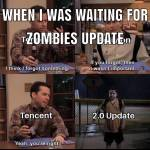 Waiting for zombies update CoD mobile be like…