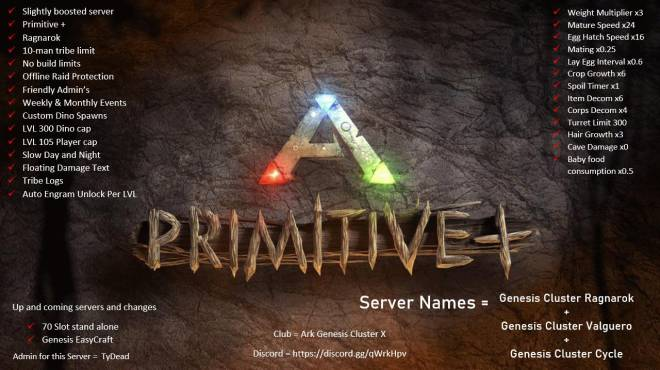 ARK: Survival Evolved: General - Join we greet and trade with new people that join and try it out (xbox)unofficial server image 1