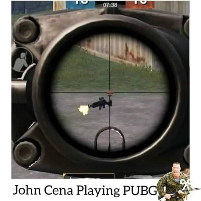 Entertainment: Memes - John cena plays pubg? image 1