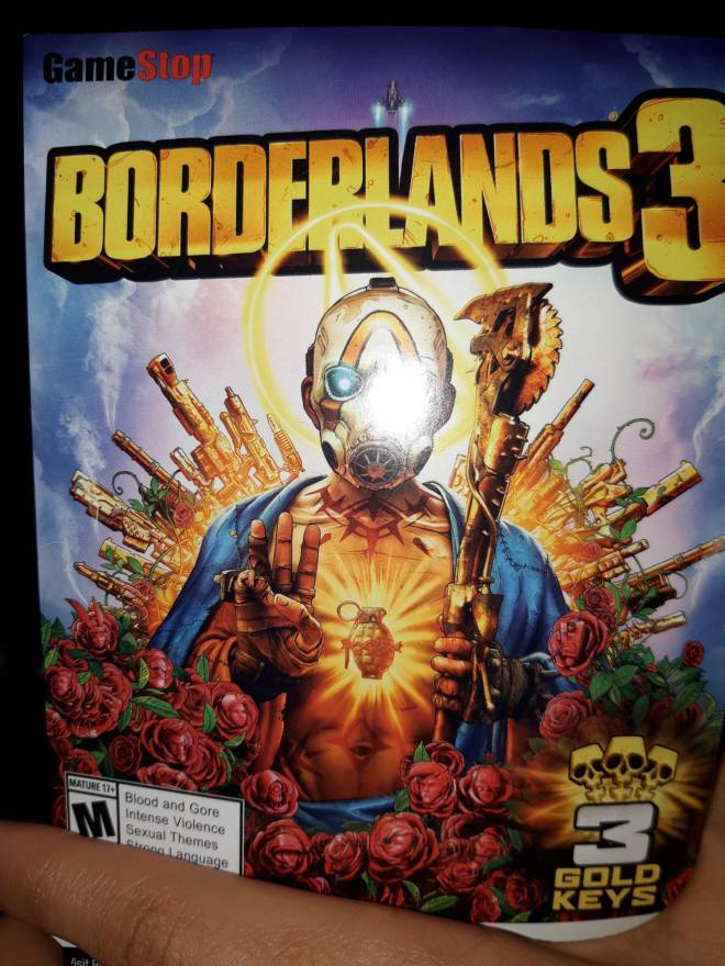 Borderlands: Awesome Items - Borderlands gold keys image 3
