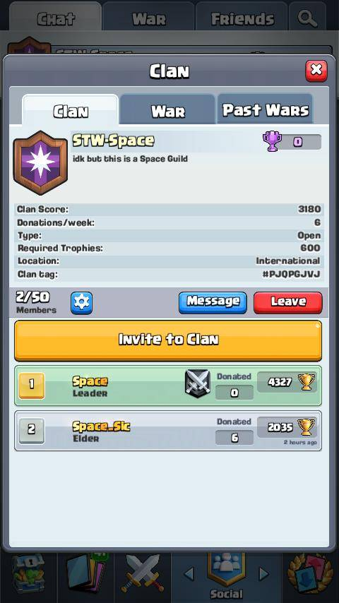Clash Royale: Recruiting - Need more King lvl 8 members image 2