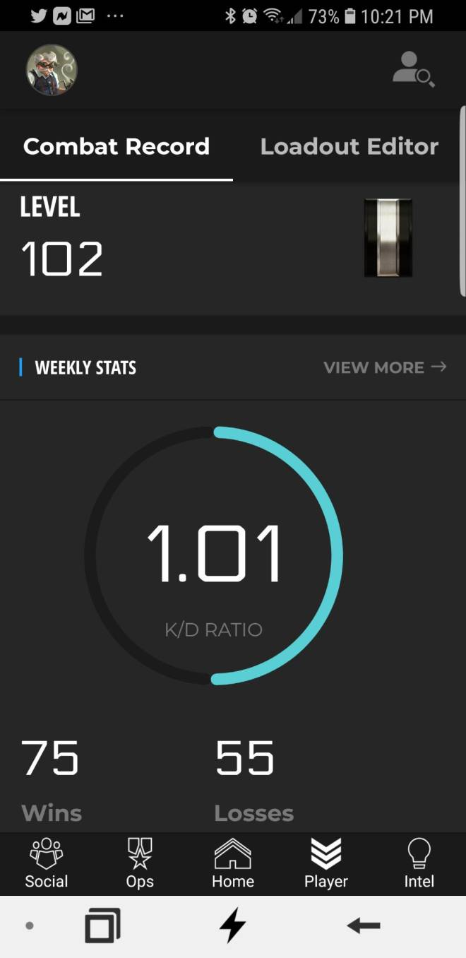 Call of Duty: POTG - Weekly stats  image 1