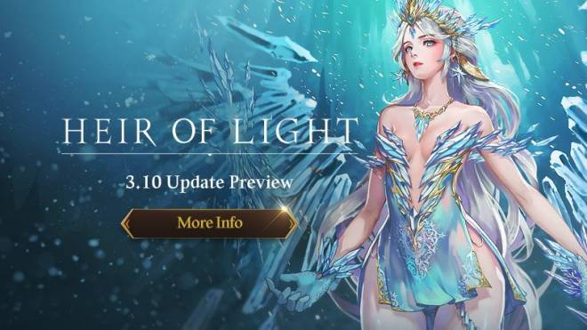 HEIR OF LIGHT: Update Preview & Patch Notes - [Notice] v3.10 Update Preview  image 1
