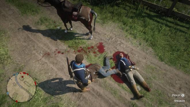 Red Dead Redemption: General - Dead man  image 1