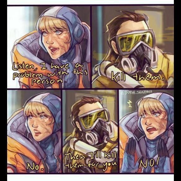 Apex Legends: Memes - The pacifist lifestyle image 1