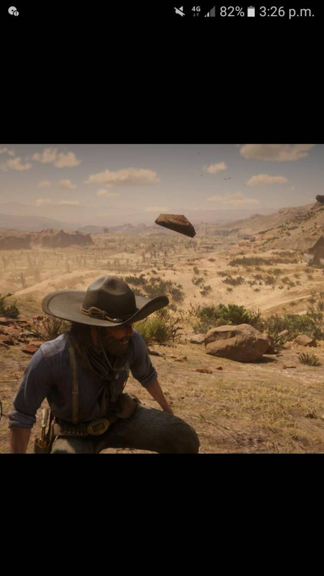 Red Dead Redemption: General - The almighty floating rock image 2