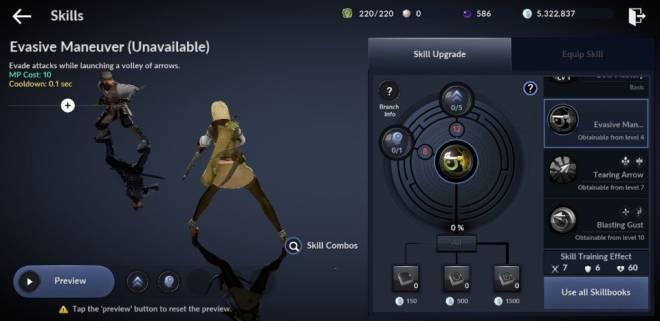 Black Desert Mobile: General - [Skill Build] Ranger image 4