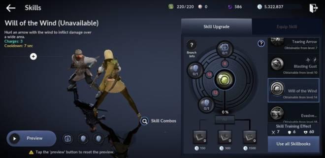 Black Desert Mobile: General - [Skill Build] Ranger image 10