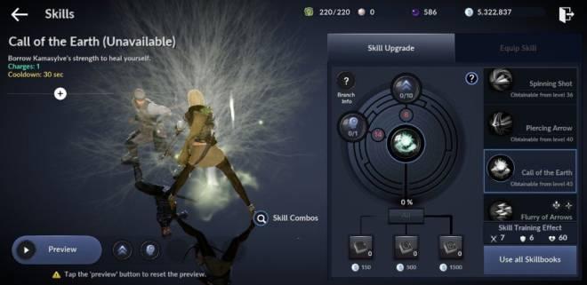 Black Desert Mobile: General - [Skill Build] Ranger image 16