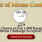 [Event] Heir of Meme Contest Event (12/23 ~ 1/5 CST)