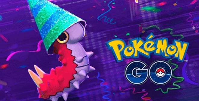 Pokemon: General - Party Hat Wurmple in Pokemon GO image 1