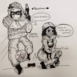 Frost and Kapkan🥰