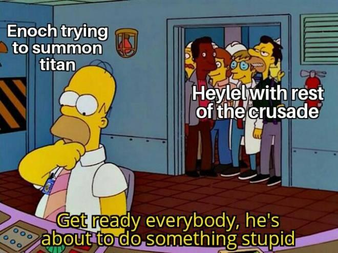 HEIR OF LIGHT: Heir of MEME - story related meme image 1