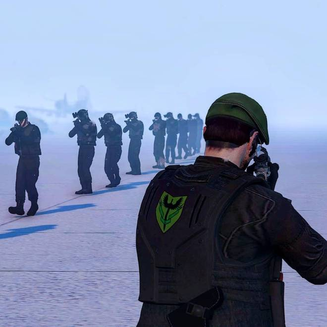 GTA: General - Boot camp in the snow, JSOC Joint Service on ps4 image 1