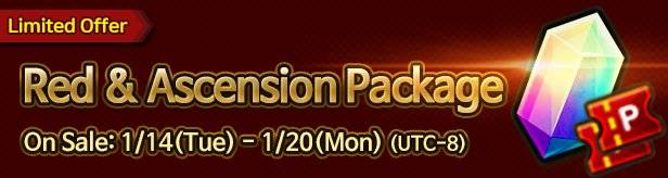 60 Seconds Hero: Idle RPG: Events - [Limited Offer] Red Ticket & Ascension Package 1/14(Tue) – 1/20(Mon) image 1