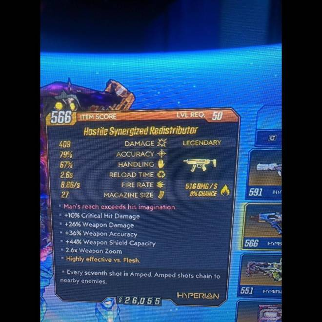 Borderlands: Awesome Items - Redistributer image 1