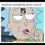 Recruit op