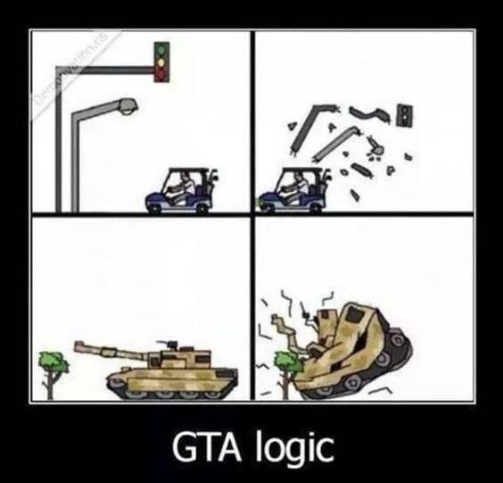 GTA: Memes - GTA logic image 1