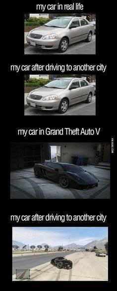 GTA: Memes - MY CAR image 1