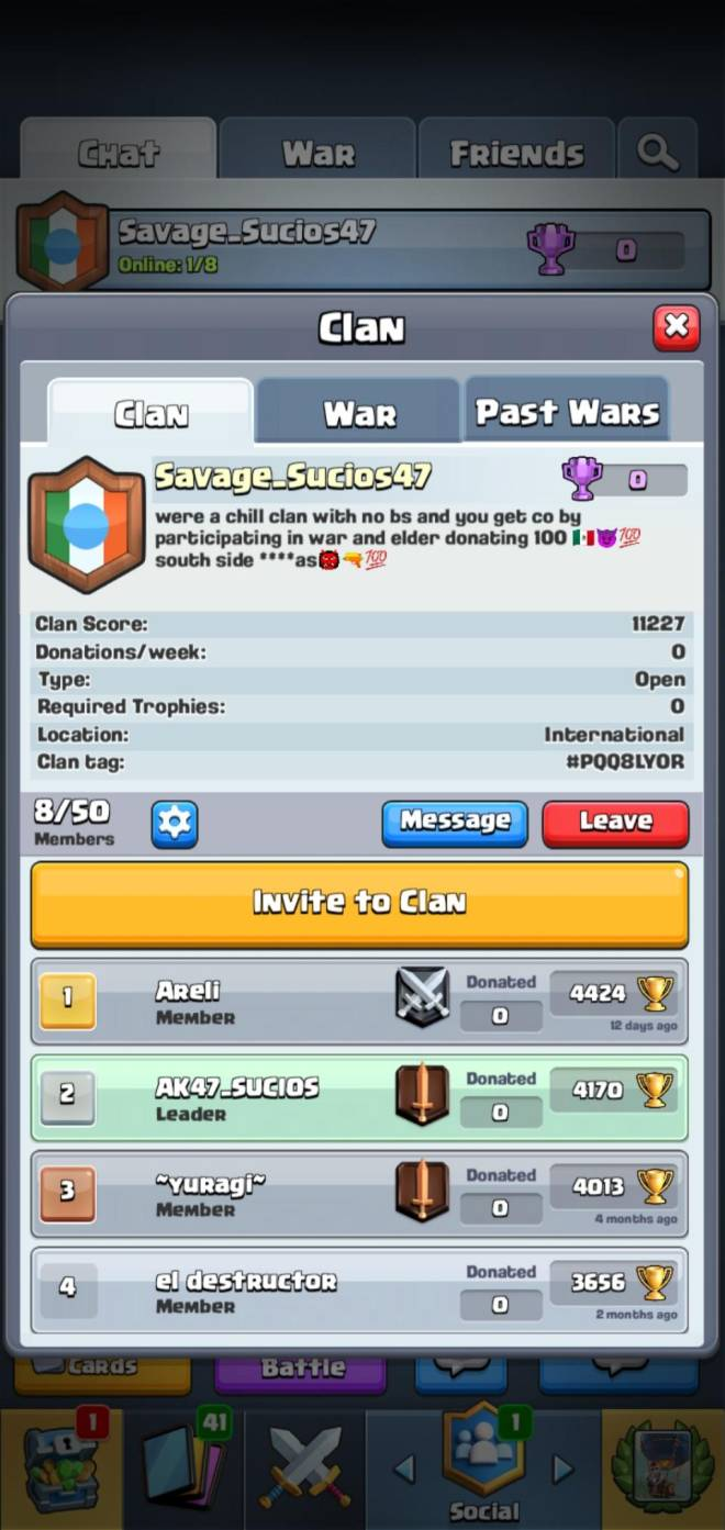 Clash Royale: Recruiting - Need active players  image 2